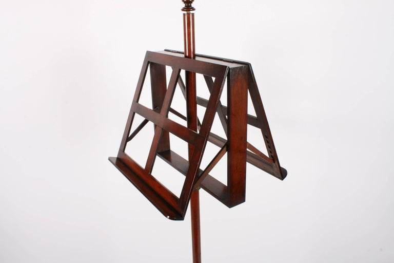 Victorian Mahogany Duet Music Stand, circa 1870 For Sale 1