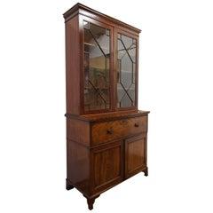 George III Secretaire Bookcase, circa 1820