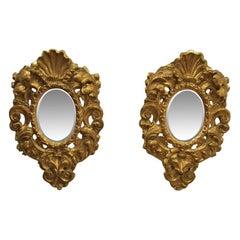 Pair of Italian Wall Mirrors, circa 1840