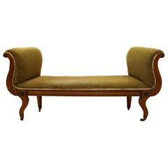 Regency Mahogany Window Seat