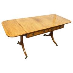 George III Rosewood Sofa Table