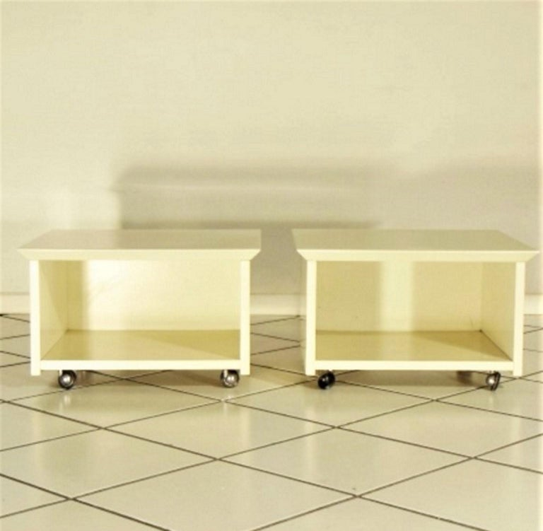 A set of two night tables by Claudio Salocchi named