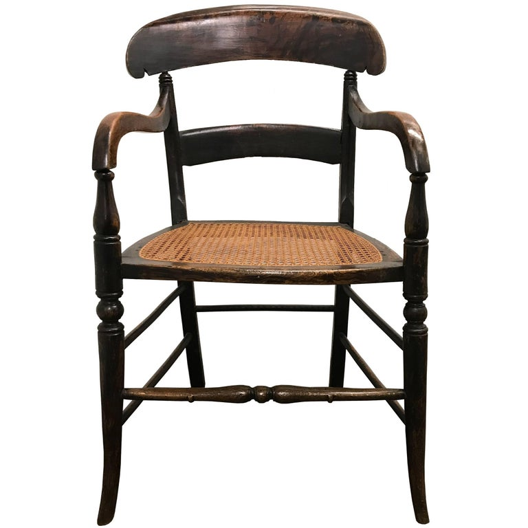 Early 19th Century American Empire Armchair