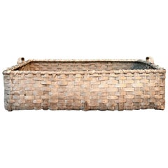 19th Century Kentucky Tobacco Leaf Basket