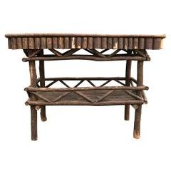 Adirondack Side Tables