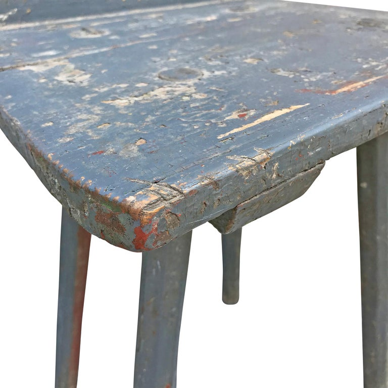 19th Century Tyrolean Painted Side Chair For Sale 1