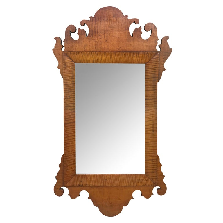 18th Century American Chippendale Mirror