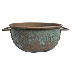 Early 20th Century American Copper Confectioner's Pot