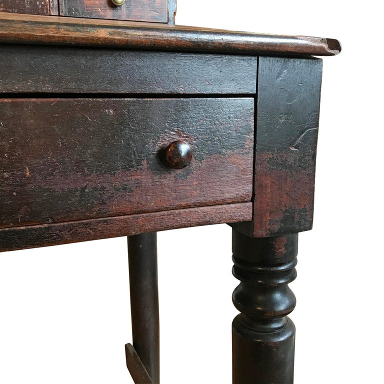 Early 20th Century American Foreman's Desk For Sale 1