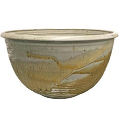 Monumental Mid-20th Century American Studio Pottery Bowl