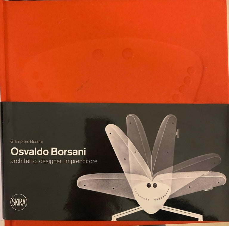 Set of 12 Italian Modern Mahogany Dining Chairs, Osvaldo Borsani For Sale 14