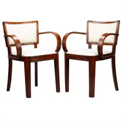 Art Deco Armchairs, circa 1930