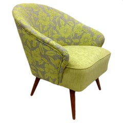 Flowers Armchair, Gray and Green, Germany, 1960s