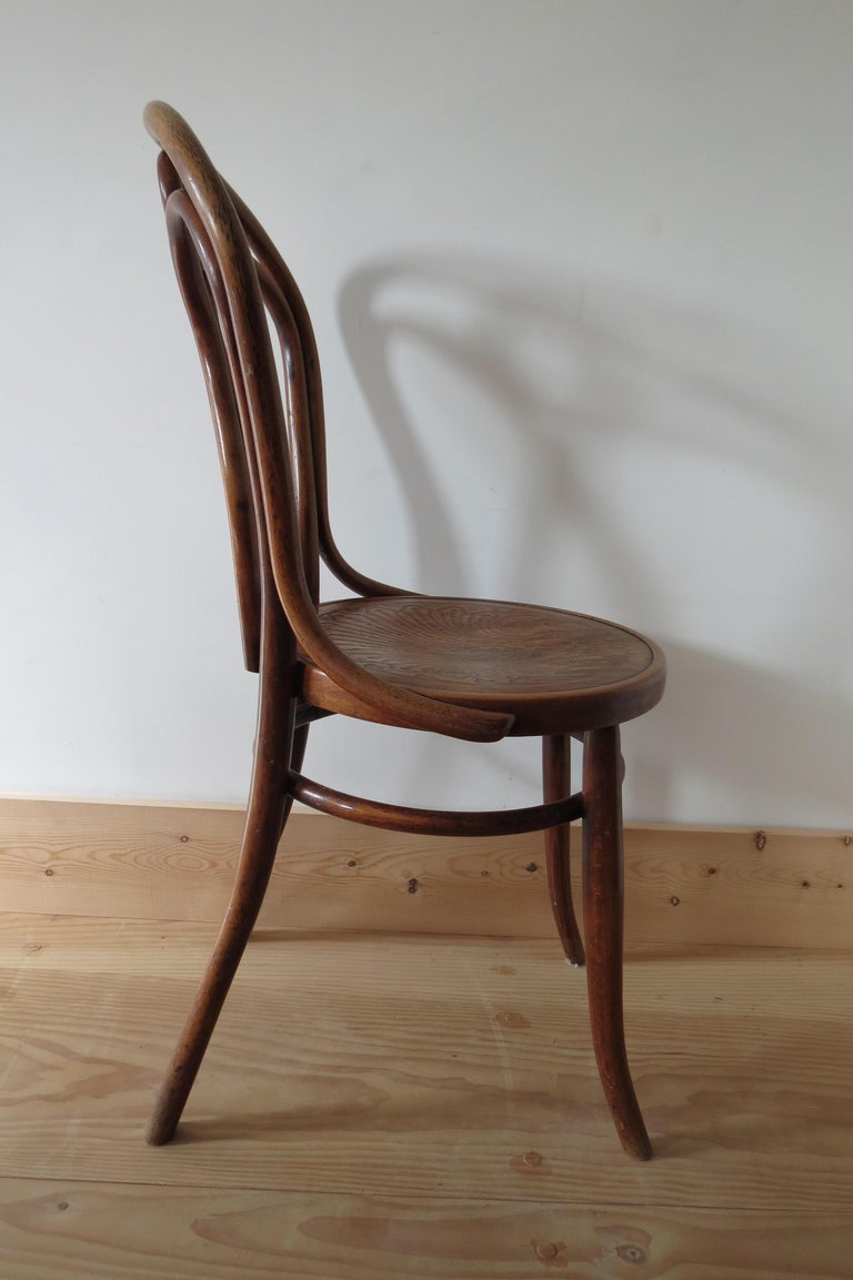 Set of 6 Jacob and Joseph Kohn, Austrian Dining chairs No 36 For Sale 5