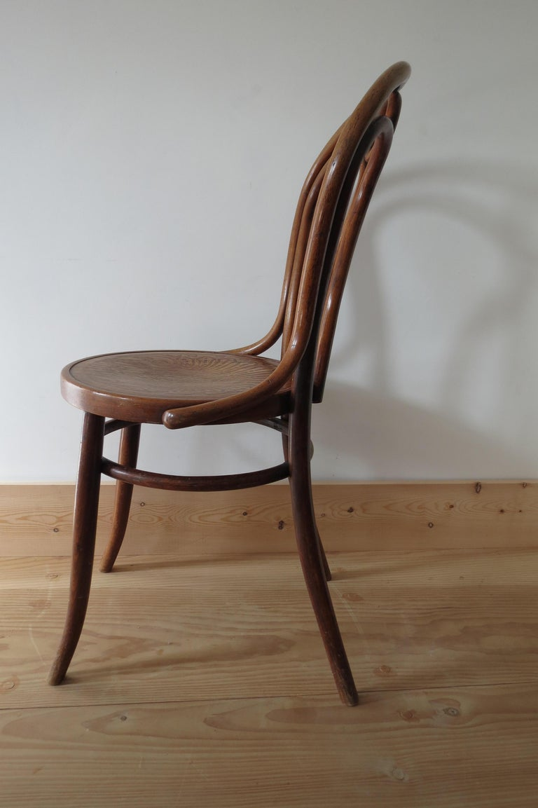 Set of 6 Jacob and Joseph Kohn, Austrian Dining chairs No 36 For Sale 8