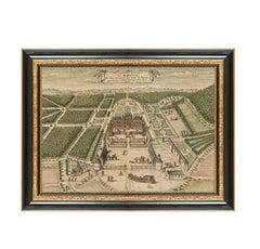Chateau de Belleroy, After Rococo Engraving by Louis Boudan
