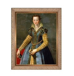 Maria de' Medici, After Oil Painting by Renaissance Artist Alessandro Allori