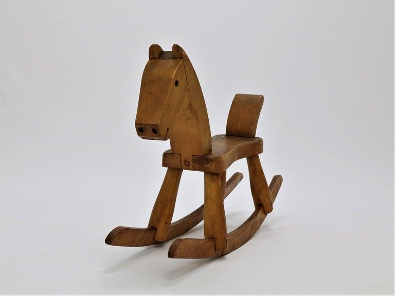 Danish Vintage Kay Bojesen Rocking Horse from the 1930s For Sale