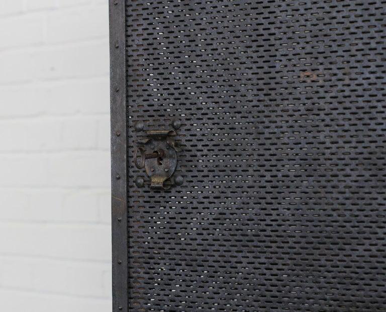 Gothic Revival Blacksmith Made Smoke Cabinet, circa 1880 For Sale 1