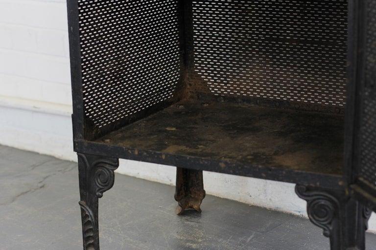 Gothic Revival Blacksmith Made Smoke Cabinet, circa 1880 For Sale 7