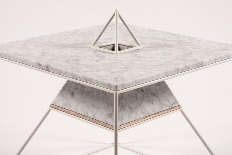 Modern 'Sputnik 5' Marble Coffee Table For Sale