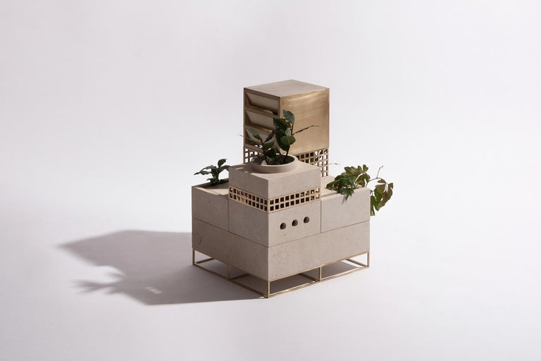 Hand-Crafted Architectural Planter