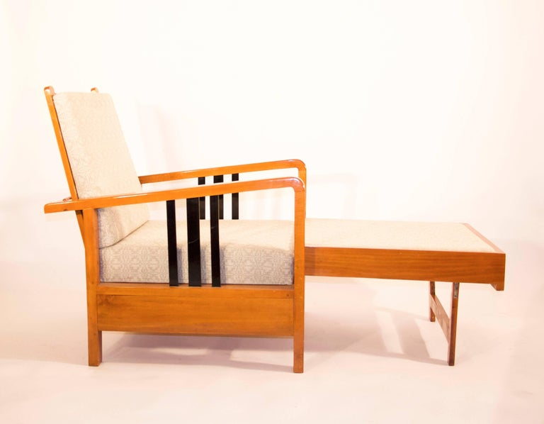 Rare, Kozma Lajos Art Deco Lounge Chair from the 1930s For Sale 1