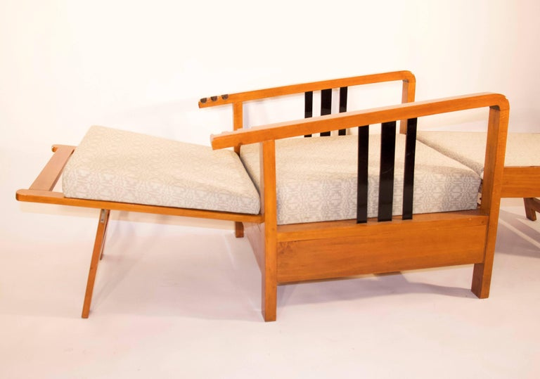 Rare, Kozma Lajos Art Deco Lounge Chair from the 1930s For Sale 2