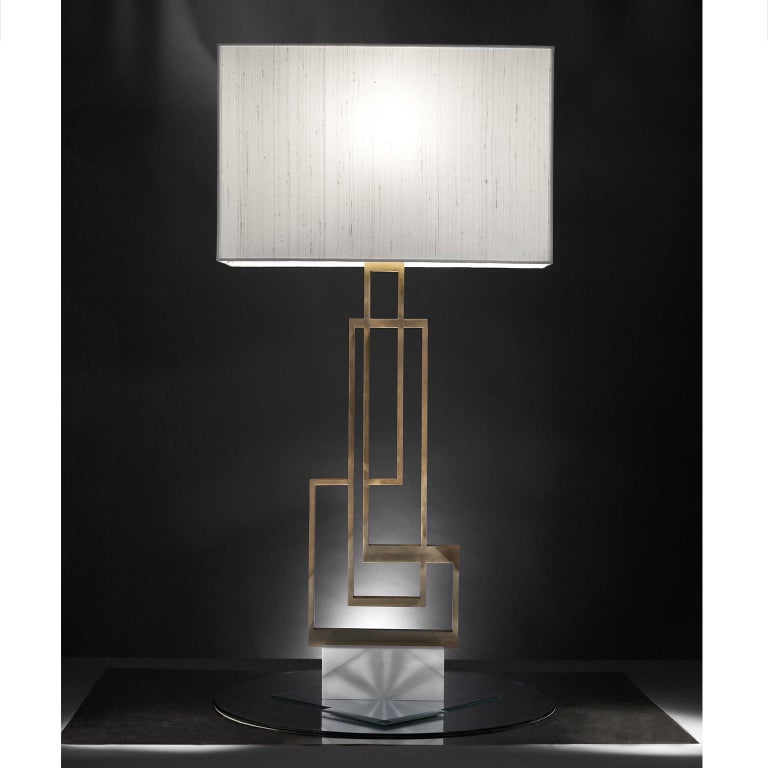 Contemporary Handcrafted Table Lamp