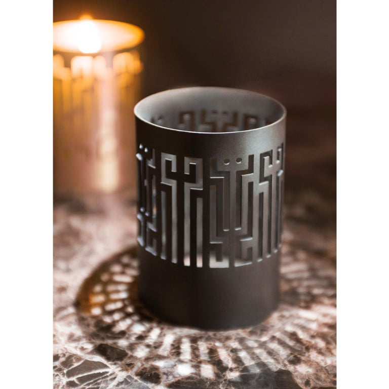 Greek Contemporary Handcrafted Candleholders