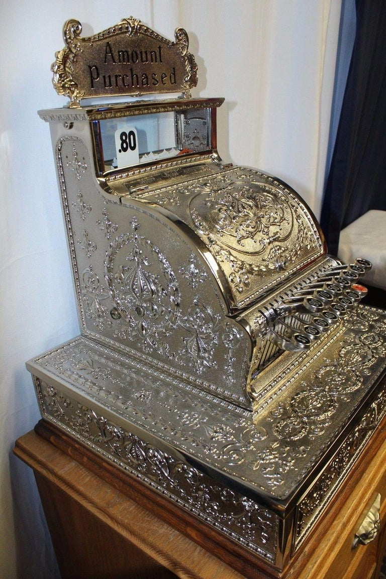 1909 National Cash Register Mod 321 In Good Condition For Sale In Carson, CA
