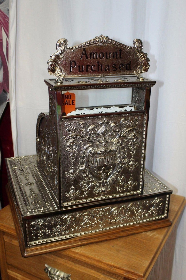 1909 National Cash Register Mod 321 For Sale 4