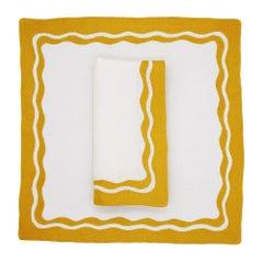 Elisabetta Table Linens by Julia B. 'Citron'