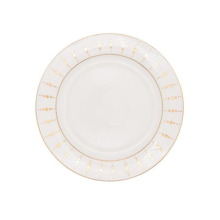 Art Deco Julietta Dinnerware by Julia B. For Sale