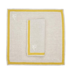 Newport Table Linens by Julia B. 'Citron'