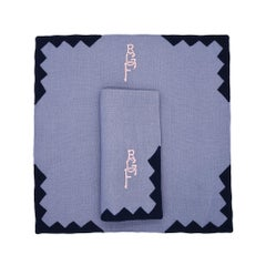 Anastasia Table Linens by Julia B. 'Wedgewood Blue'