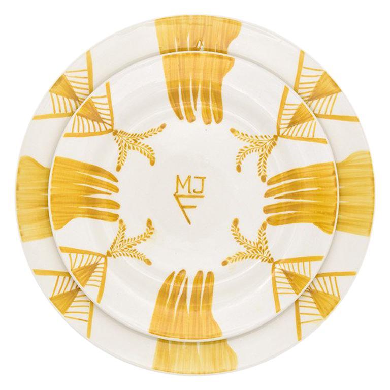 Elisabetta Soup/Pasta Bowl by Julia B For Sale