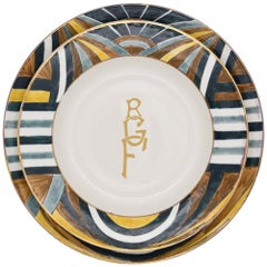 Cleopatra Dinner Plate by Julia B.