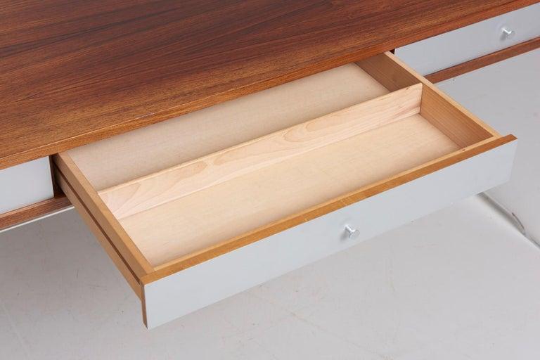Rosewood Desk by Danish Designer Poul Nørreklit, 1970s In Good Condition For Sale In Antwerpen, BE