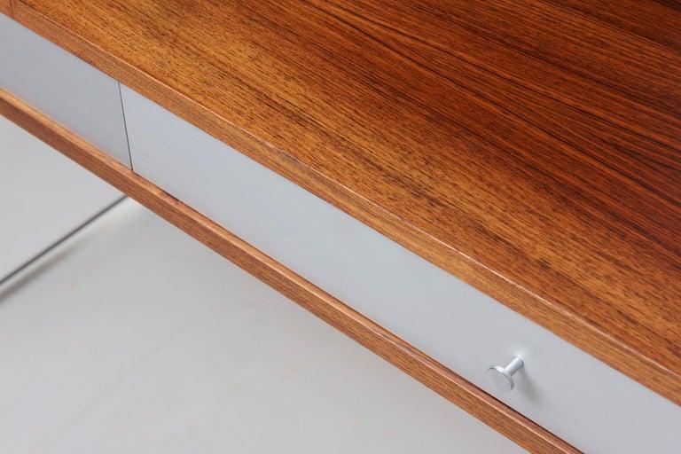 Rosewood Desk by Danish Designer Poul Nørreklit, 1970s For Sale 9