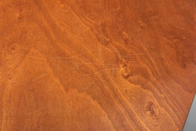 Walnut HBK table by Willy Van Der Meeren For Sale 1