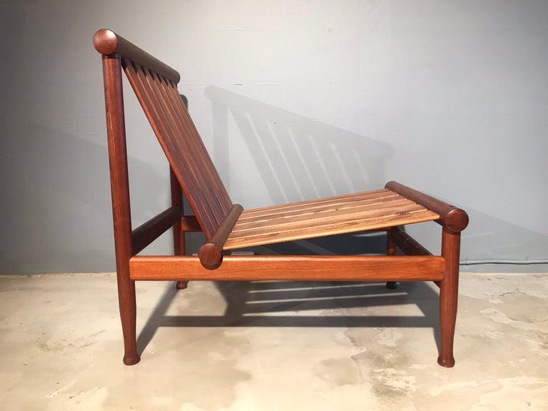 Mid-20th Century 2 Vintage Teak Kai Lyngfeldt Larsen Easy Chairs Model 501 by Søborg Furniture For Sale