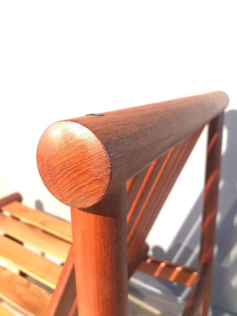 2 Vintage Teak Kai Lyngfeldt Larsen Easy Chairs Model 501 by Søborg Furniture For Sale 2