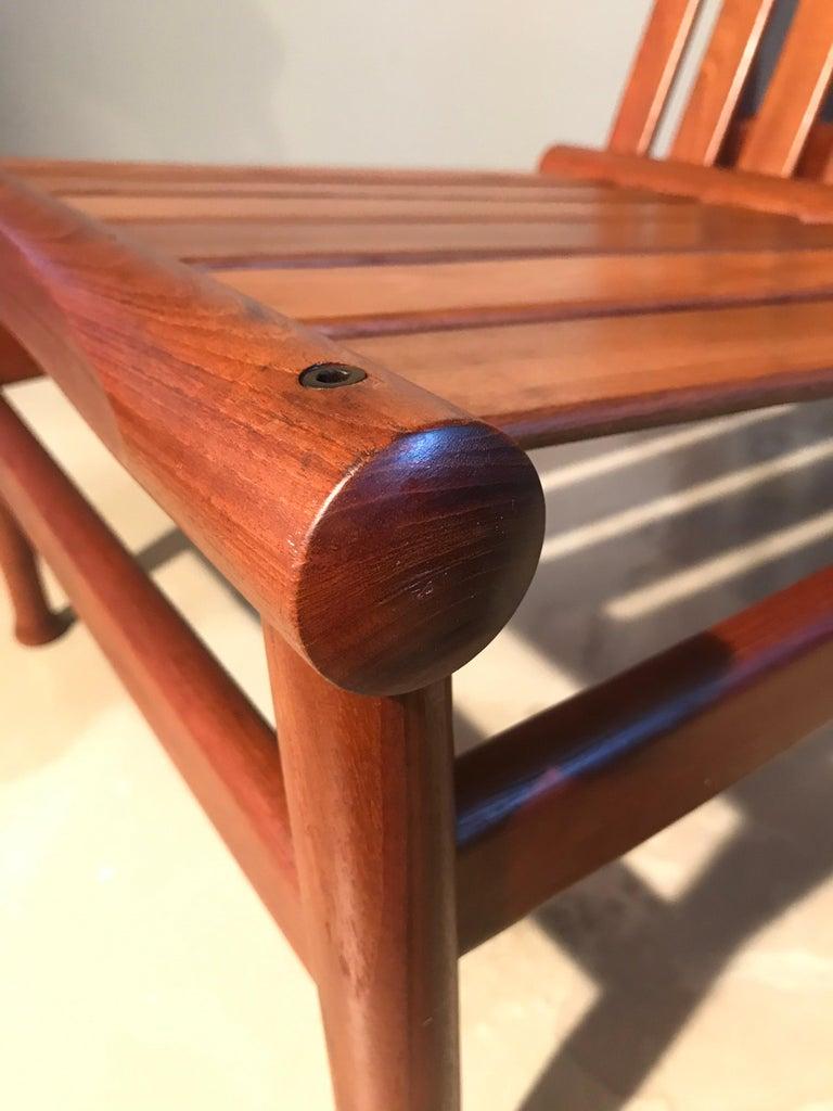 2 Vintage Teak Kai Lyngfeldt Larsen Easy Chairs Model 501 by Søborg Furniture For Sale 3