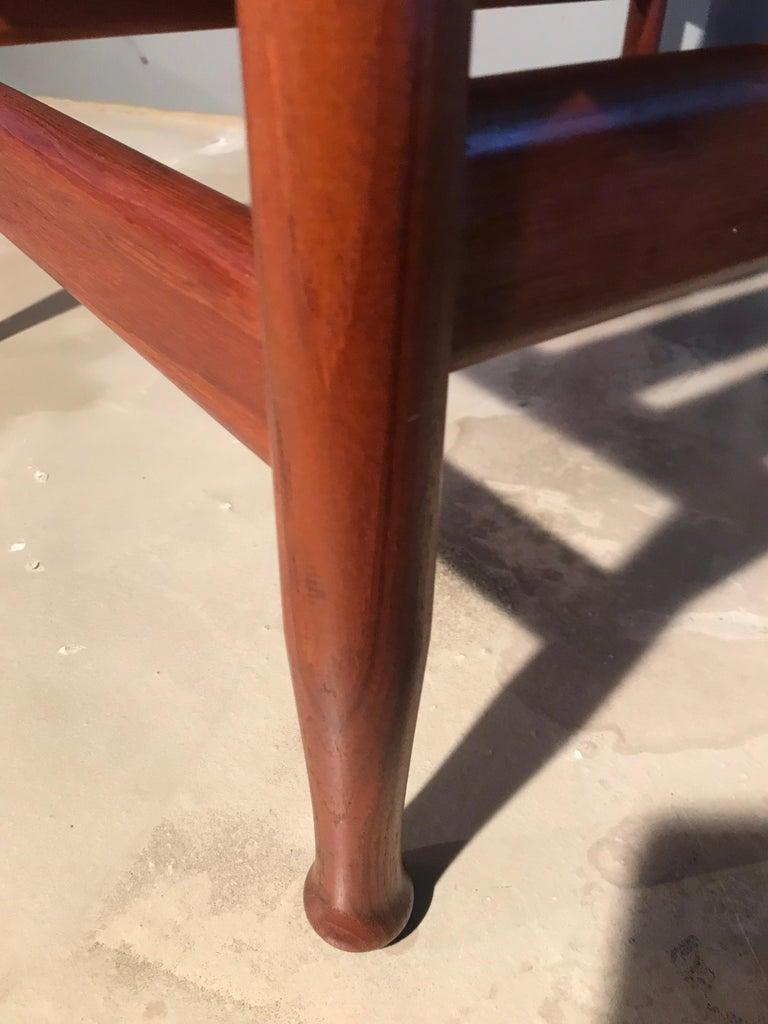 2 Vintage Teak Kai Lyngfeldt Larsen Easy Chairs Model 501 by Søborg Furniture For Sale 4