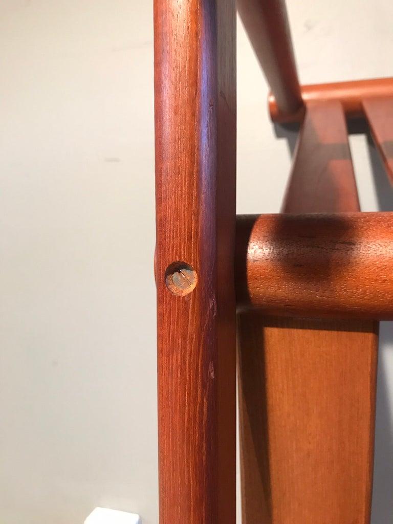 2 Vintage Teak Kai Lyngfeldt Larsen Easy Chairs Model 501 by Søborg Furniture For Sale 5
