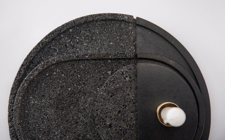 Minimalist Lava Trays Set, Volcanic Rock For Sale