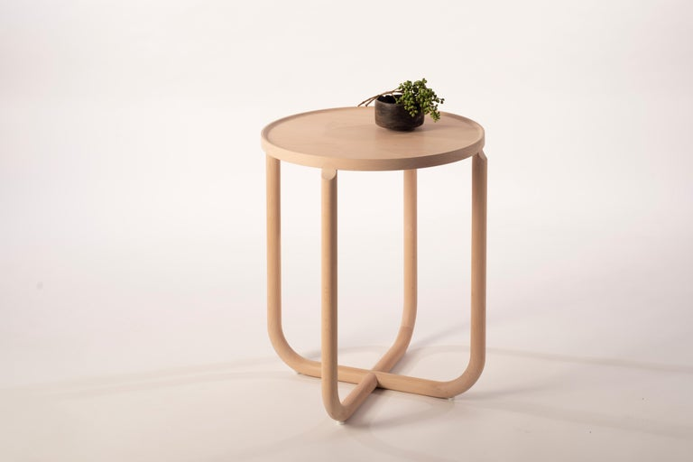 Lacquered Verso Sidetable For Sale