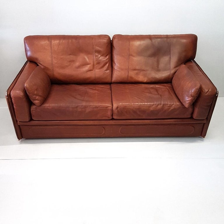 Good Quality Leather Sofa: High Quality Thick Leather Sofa Model Miami By Baxter