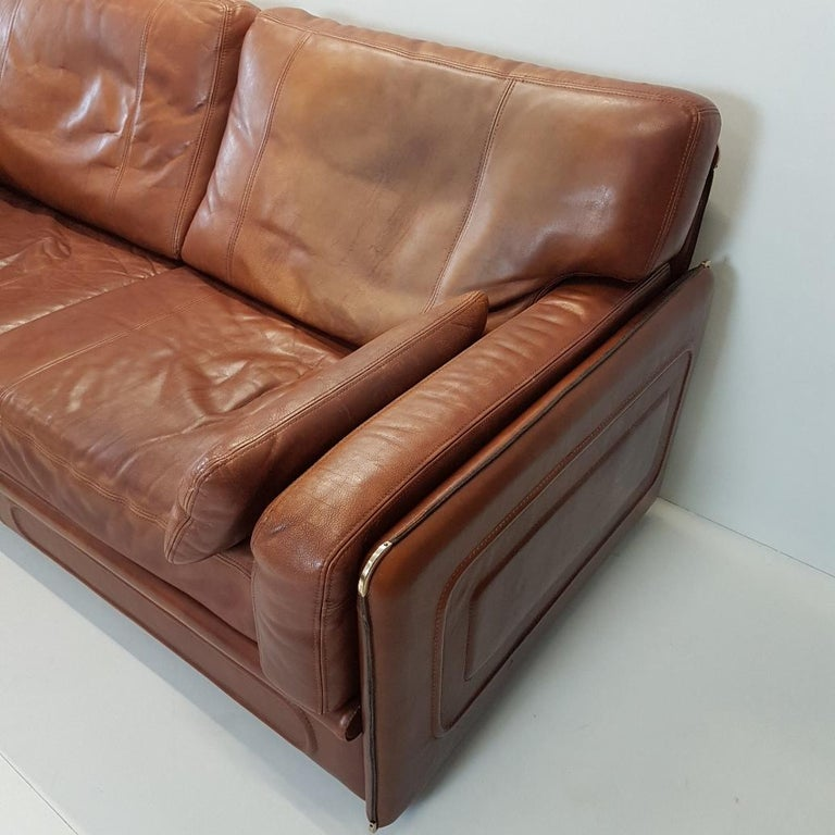 Quality Sofas For Sale: High Quality Thick Leather Sofa Model Miami By Baxter